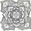 Abstract Coloring Pages for Adults Awesome 56 Free Mandala Coloring Pages Aias