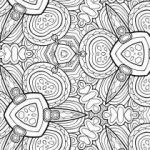 Abstract Coloring Pages for Adults Inspired Printable Abstract Coloring Pages 4107 Printable Boy