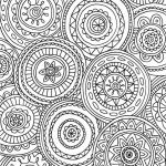 Abstract Coloring Pages for Adults Marvelous 42 Unique Henna Coloring Book