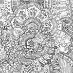 Abstract Coloring Pages for Adults Marvelous Fotografie Obraz Coloring Page for Adults with Abstract Doodle