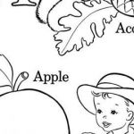 Acorn Color Pages Beautiful √ Abc Coloring Pages and Letter Coloring Pages for Adults Awesome