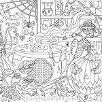 Acorn Color Pages Inspiring Hidden Object Coloring Pages Great Halloween Book Pdf 20 S