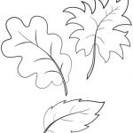 Acorn Color Pages Marvelous Fall Autumn Leaves Coloring Page From Fall Category Select From