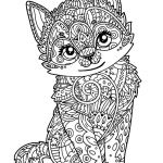 Adult Cat Coloring Pages Best Of Coloring Page Cool Adultloring Pages Cute Printable New Od Dog