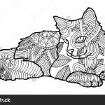Adult Cat Coloring Pages Fresh Best Coloring Pages Cat Free Picolour