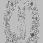 Adult Cat Coloring Pages Inspirational 13 Best Coloring Book Cat Kanta