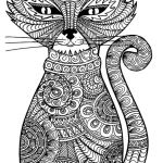 Adult Cat Coloring Pages Inspirational Cat Coloring Pages Printable New Cat Adult Coloring Pages Free