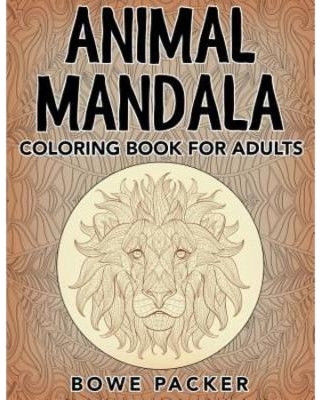 Adult Coloring Book Lion Beautiful the Best Summer Sales Animal Mandala Coloring Book for Adults