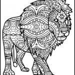 Adult Coloring Book Lion Brilliant Coloring Animal Coloring Pages for Adults Printable Lion Lovers