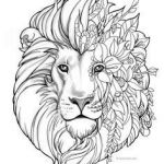 Adult Coloring Book Lion Creative 830 Best Animal Coloring Pages for Adults Images In 2019
