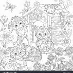 Adult Coloring Book Lion Inspirational Elegant Cute Dog and Cat Coloring Pages – Kursknews
