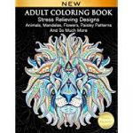 Adult Coloring Book Lion Inspired Amazon Best Sellers Best Coloring Books for Grown Ups