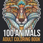 Adult Coloring Book Lion Pretty Coloring Books for Adults Hobby & Leisure Time