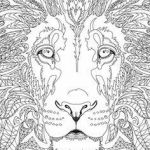 Adult Coloring Book Lion Wonderful 128 Best Animal Coloring Pages Images In 2017