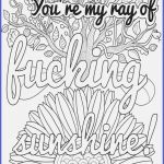 Adult Coloring Books Curse Words Awesome New Curse Word Coloring Page 2019