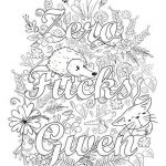 Adult Coloring Books Curse Words Inspiration Pin by Tamie White On Swear Words Adult Coloring Pages