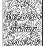Adult Coloring Books Curse Words Inspiring 453 Best Vulgar Coloring Pages Images In 2017