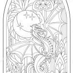 Adult Coloring Dragon Amazing Fantasy Dragon Fantasy Coloring Pages for Adults