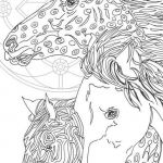 Adult Coloring Horses Excellent Coloring Pages Printable Adult Coloring Book Horse by Valra