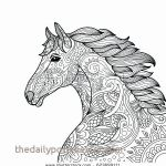 Adult Coloring Horses Inspired Coloring Page Horse Fresh Horse Printable Coloring Pages Free