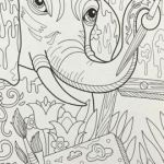 Adult Coloring Pages Free Inspiration Free Elephant Coloring Pages Best Elephant Adult Coloring Pages