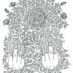 Adult Coloring Pages Fuck Inspired Coloring Pages Adult – Adrianamejia