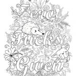 Adult Coloring Pages Fuck Inspired Downloadable Coloring Sheets
