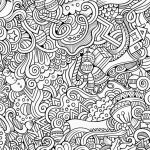 Adult Coloring Pages Patterns Inspired Awesome Printable Detailed Pattern Coloring Pages