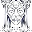 Adult Coloring Pages Skull Inspired Skull Color Pages Printable Skulls Coloring Pages for Kids Skull