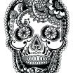 Adult Coloring Pages Sugar Skulls Awesome Sugar Skull Coloring Pages Art is Fun Another Idea is to Print the