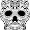 Adult Coloring Pages Sugar Skulls Inspirational Coloring Skull Coloring Pages for Adults Phenomenal at