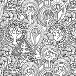 Adult Coloring Pictures Exclusive Printable Detailed Pattern Coloring Pages – Salumguilher