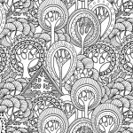Adult Coloring Printable Brilliant Printable Detailed Pattern Coloring Pages – Salumguilher