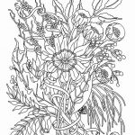 Adult Coloring Printable Creative Fairy Adult Coloring Pages