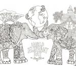 Adult Coloring Printable Inspired Coloring Printable Pages for Adults Best Christmas Animals
