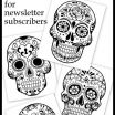 Adult Coloring Skulls Amazing 25 Free Printable Skull Coloring Pages Collection Coloring Sheets