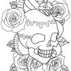 Adult Coloring Skulls Elegant 20 Adult Coloring Book Pages Rose Tattoo Ideas and Designs