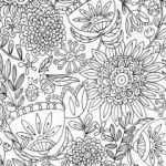 Adult Flower Coloring Pages Brilliant Pattern Coloring Pages for Adults Printable Christmas Colour