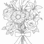 Adult Flower Coloring Pages Brilliant Printable Flower Coloring Pages Elegant Vases Flowers In Vase
