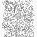 Adult Flower Coloring Pages Inspired Coloring Pages Flowers for Teens Paper Crafts