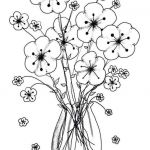 Adult Flower Coloring Pages Inspired Printable Flower Coloring Pages New Cool Vases Flower Vase Coloring