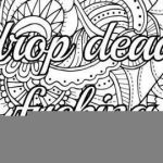 Adult Free Coloring Pages Fresh Free Curse Word Coloring Pages Lovely 54 Unique Free Swear Word