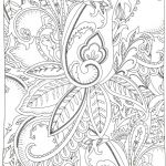 Advanced Coloring Book Inspirational Flowers Coloring