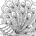 Advanced Coloring Book Inspirational Free Printable Peacock Coloring Pages Fresh Advanced Peacock