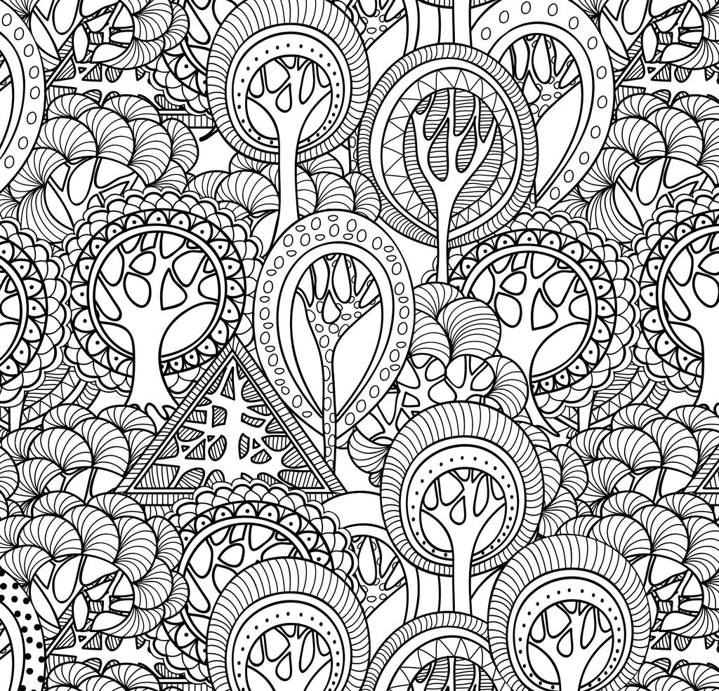 New Adult Coloring Pages Animal Patterns
