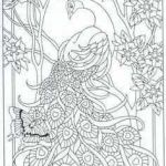 Advanced Coloring Pages Beautiful Peacock Coloring Pages Elegant Peacock Coloring Pages