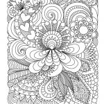 Advanced Coloring Pages Flowers Awesome Awesome Flowers and Paisley Coloring Pages – Doiteasy