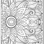 Advanced Coloring Pages Flowers Awesome Coloring 43 Marvelous Advanced Mandala Coloring Pages Pdf