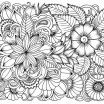 Advanced Coloring Pages Flowers Beautiful Coloring Page Fall Colorings for Adults Best Kids Free Printable