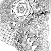 Advanced Coloring Pages Flowers Brilliant Advanced Peacock Coloring Pages Free for Geometric Mandala Adults